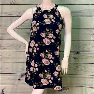 Alterd State sweet flower sundress halter top mini